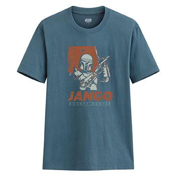 STAR WARS系列印花T恤-08-男
