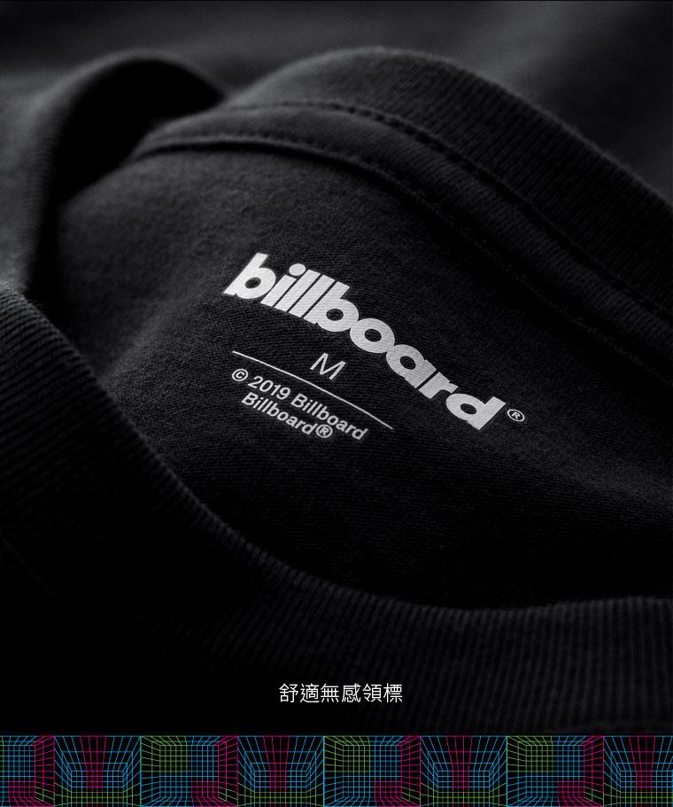 billboard印花T恤-01-男
