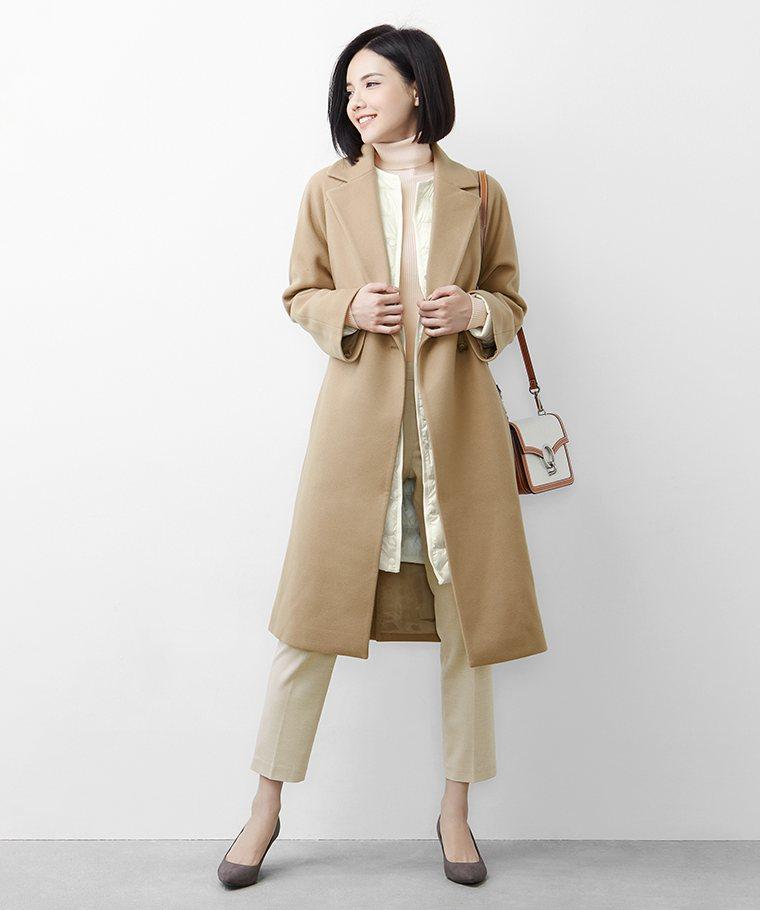 極輕羽絨內搭型長版外套-女