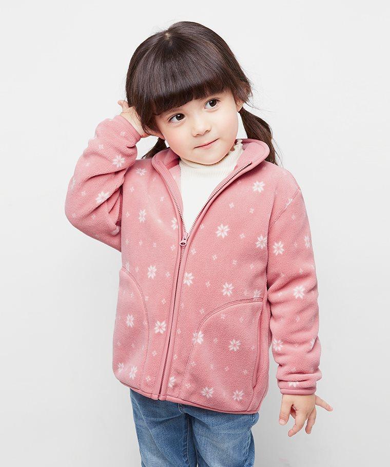 Fleece立領外套-01-童