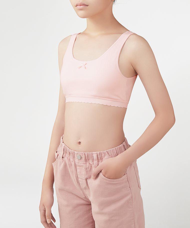 棉質背心Bra胸衣-女童