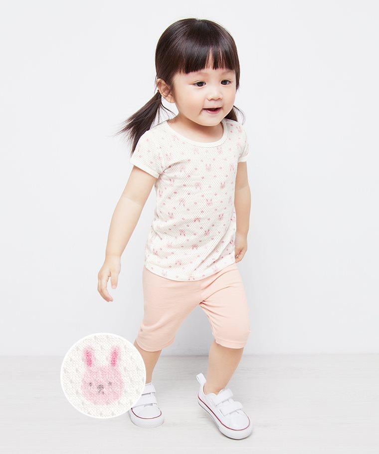 純棉網眼T恤(2入)-Baby