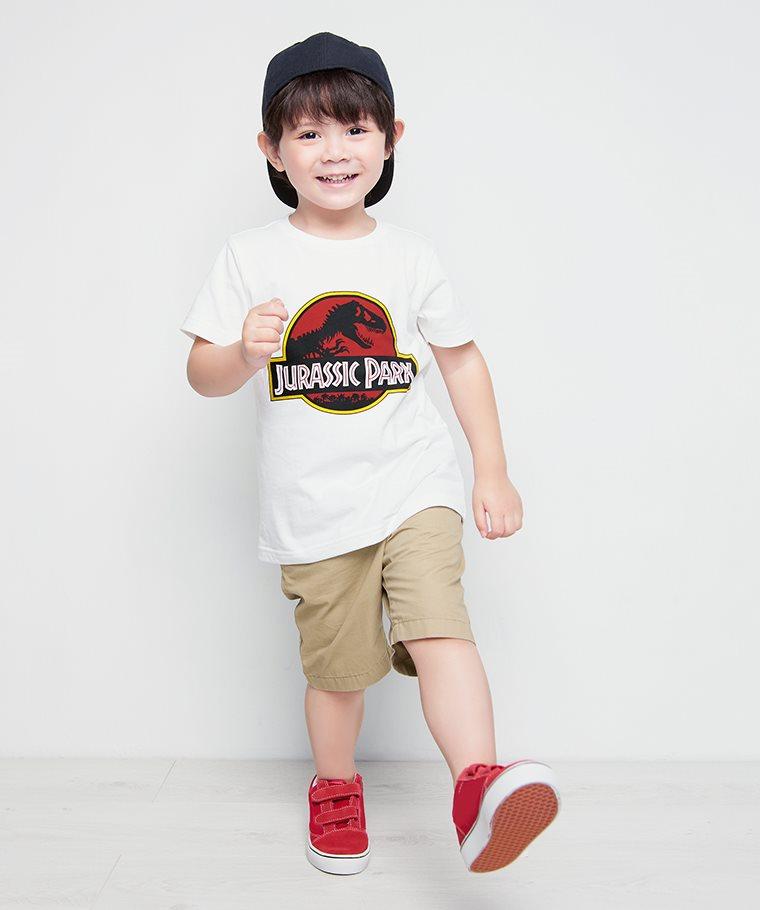 Jurassic World印花T恤-10-童