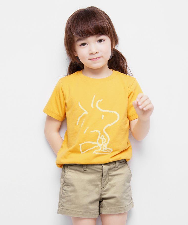 史努比系列印花T恤-18-童