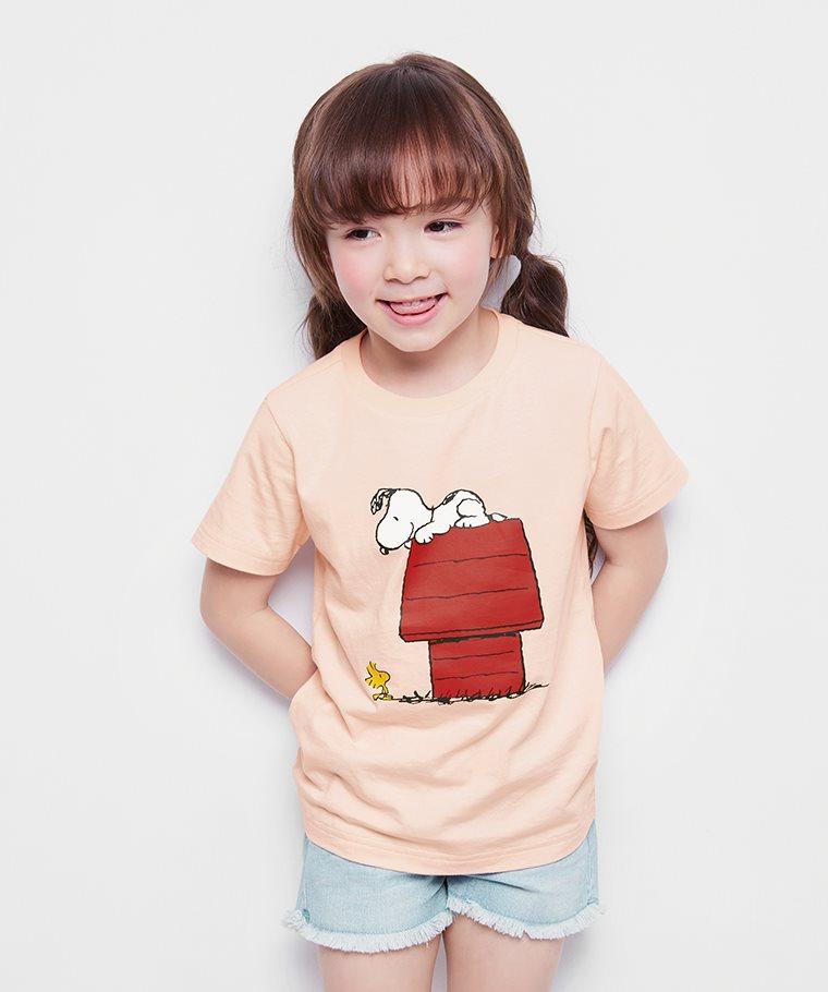 史努比系列印花T恤-24-童
