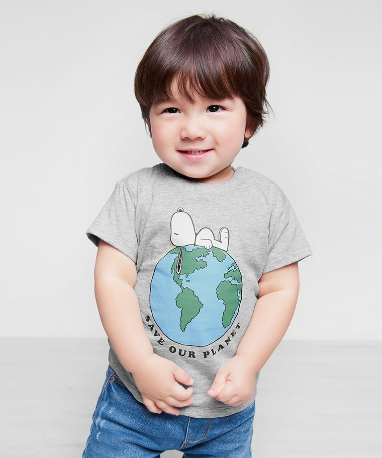 史努比系列印花T恤-04-Baby