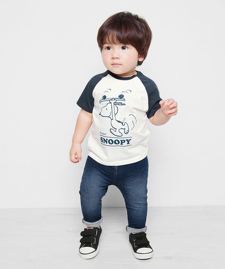 史努比系列拉克蘭印花T恤-21-Baby