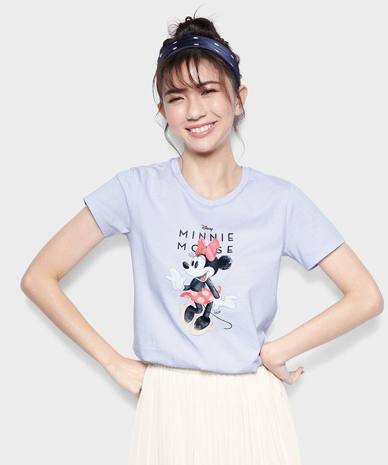 迪士尼系列印花T恤-16-女