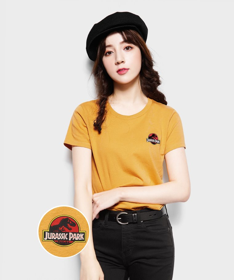 Jurassic World印花T恤-01-女