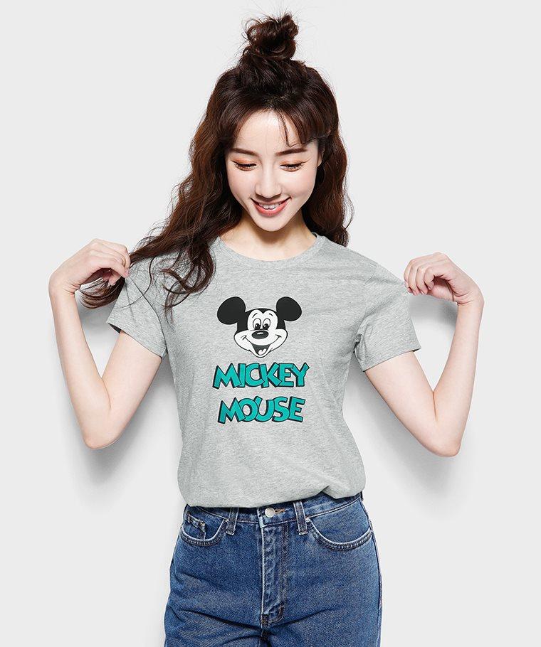迪士尼系列印花T恤-09-女
