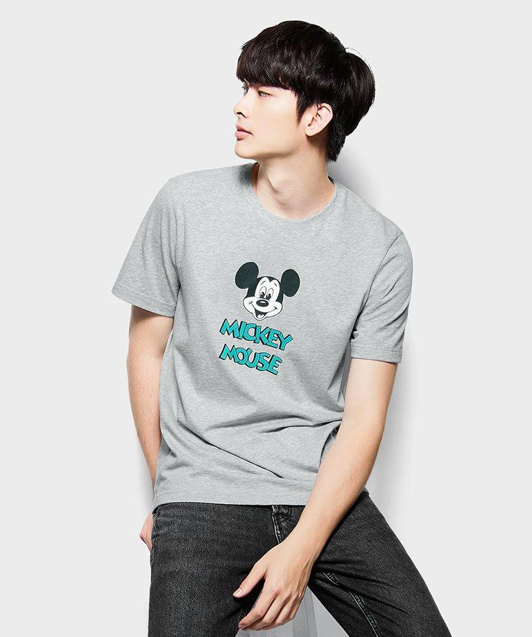 迪士尼系列印花T恤-09-男