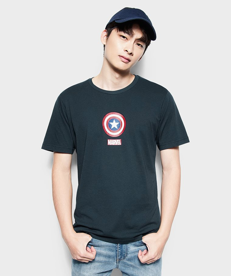 漫威系列印花T恤-05-男