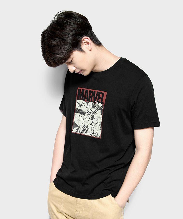漫威系列印花T恤-09-男