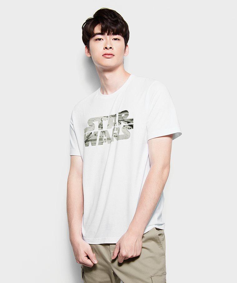 STAR WARS系列印花T恤-01-男