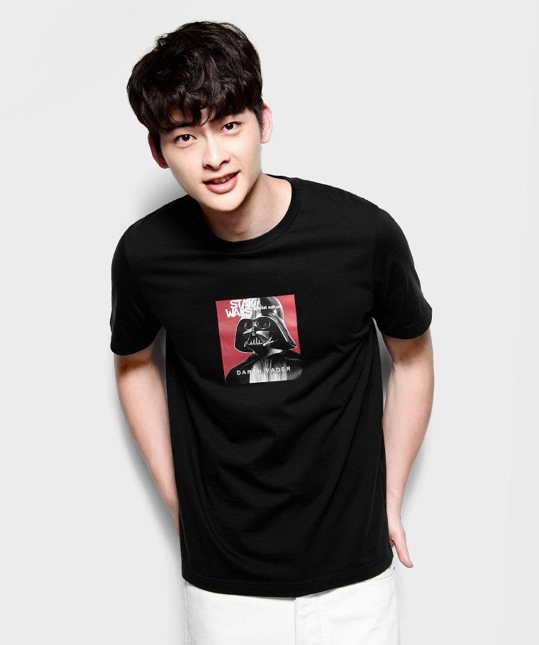 STAR WARS系列印花T恤-03-男