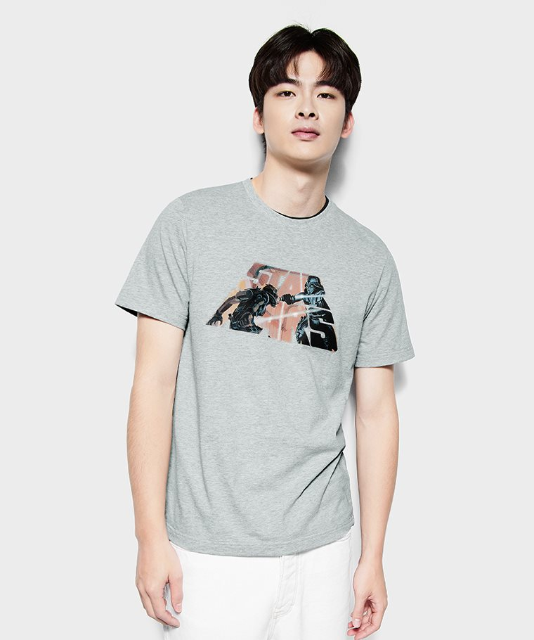 STAR WARS系列印花T恤-05-男