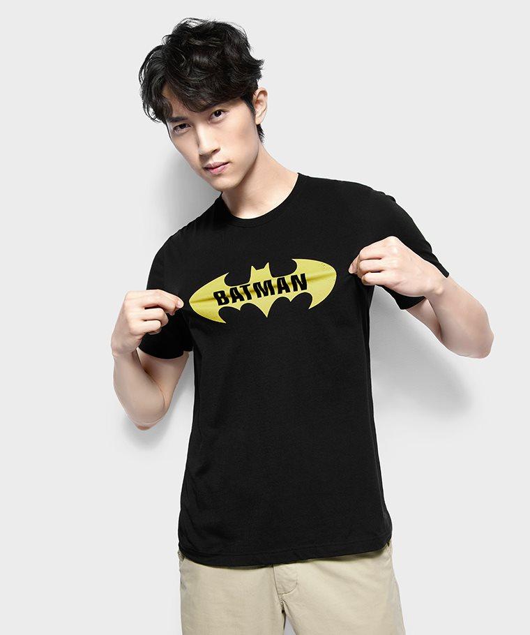 Batman印花T恤-01-男