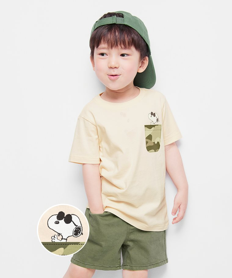 史努比系列印花T恤-26-童