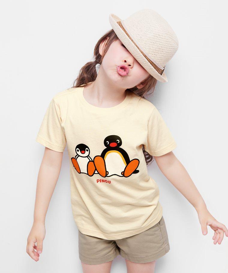PINGU印花T恤-07-童