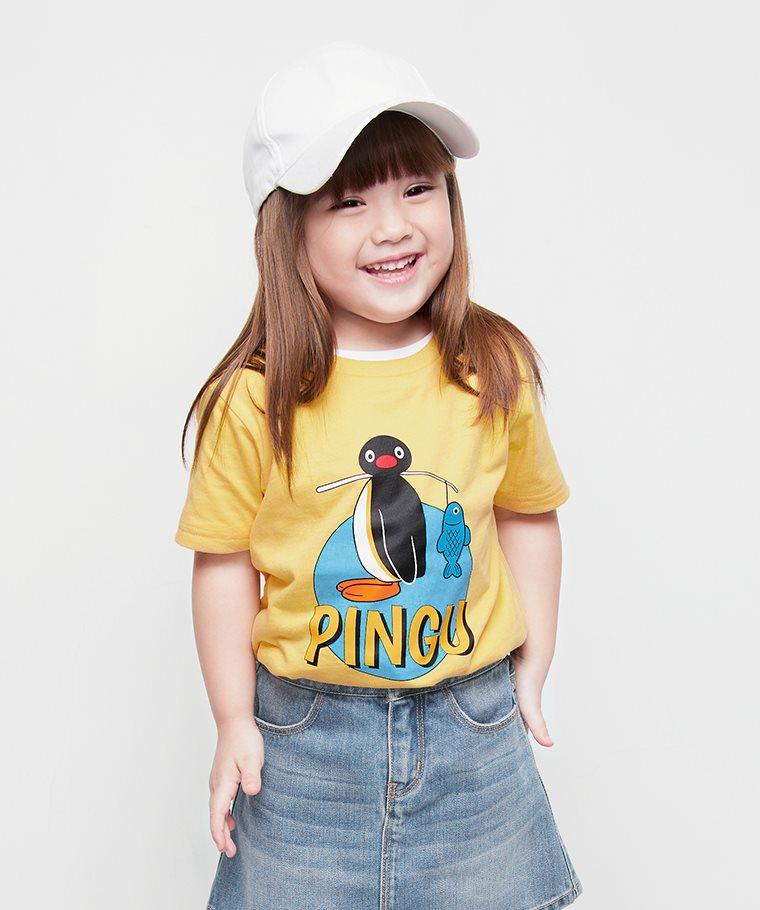 PINGU印花T恤-03-童