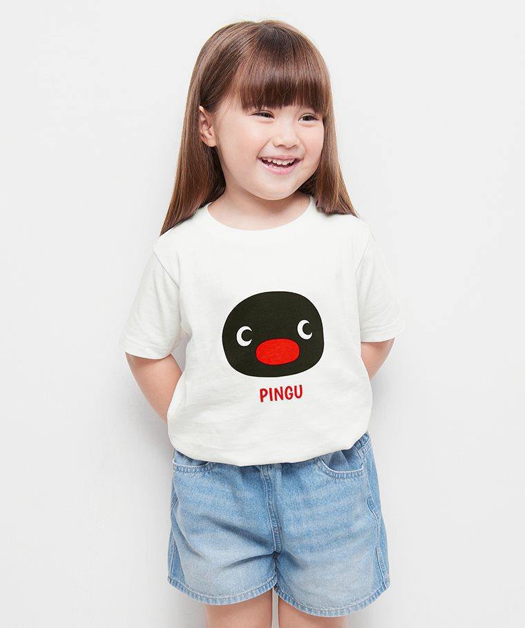 PINGU印花T恤-05-童