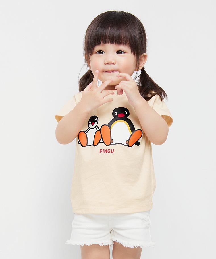 PINGU印花T恤-07-Baby