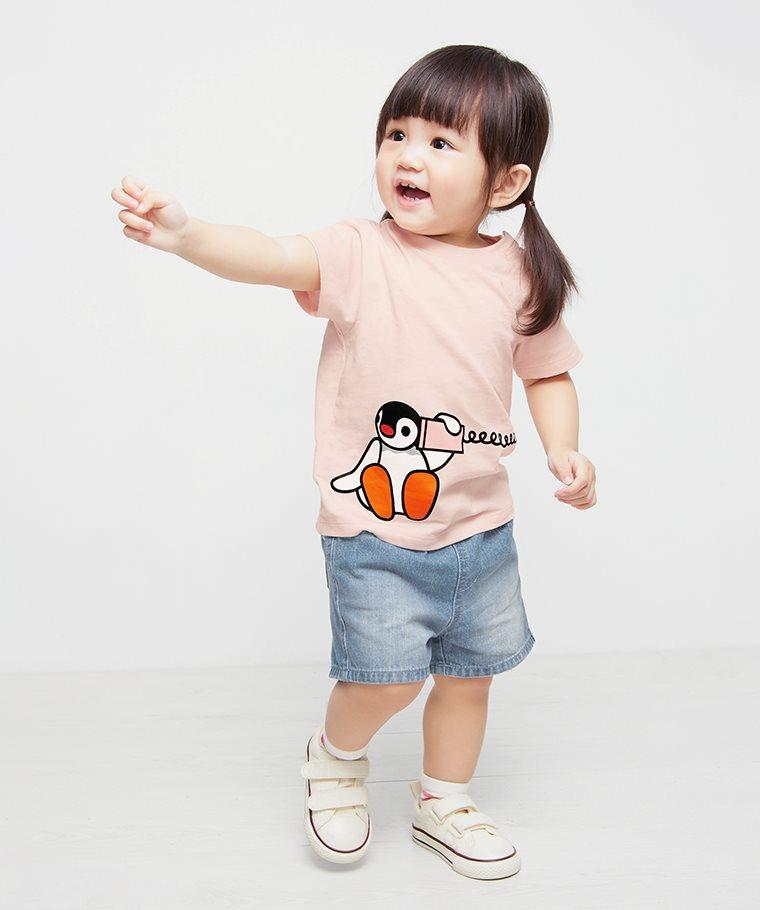PINGU印花T恤-08-Baby