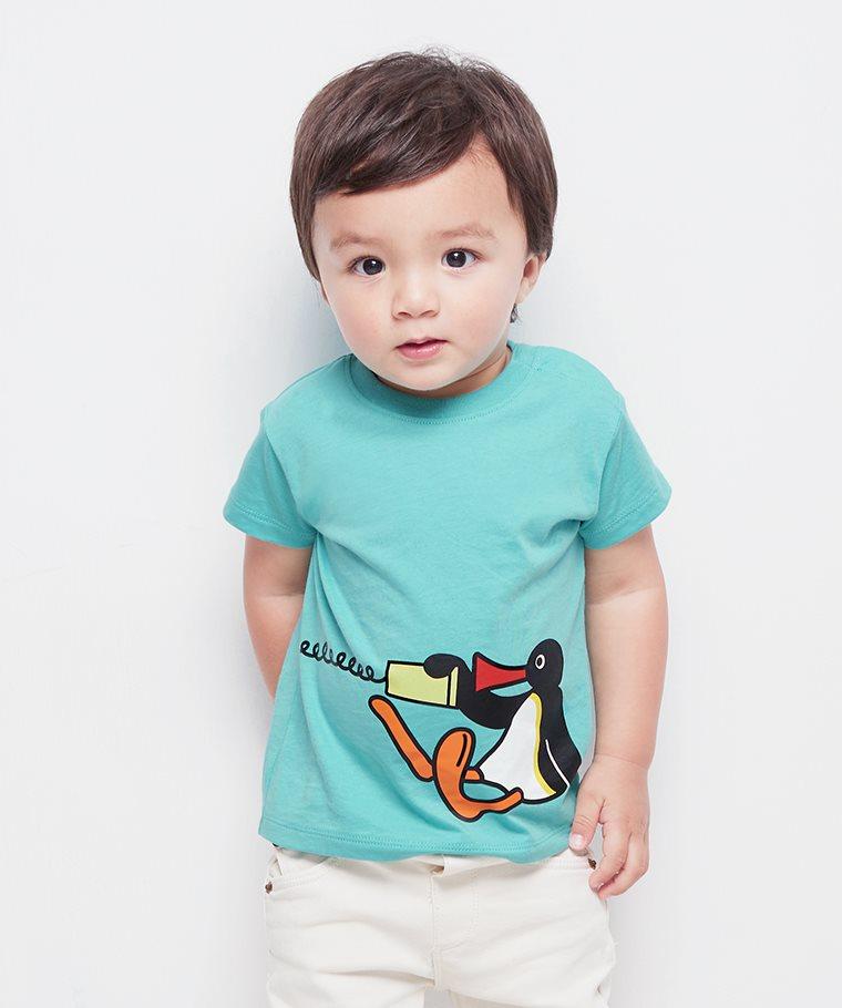 PINGU印花T恤-09-Baby