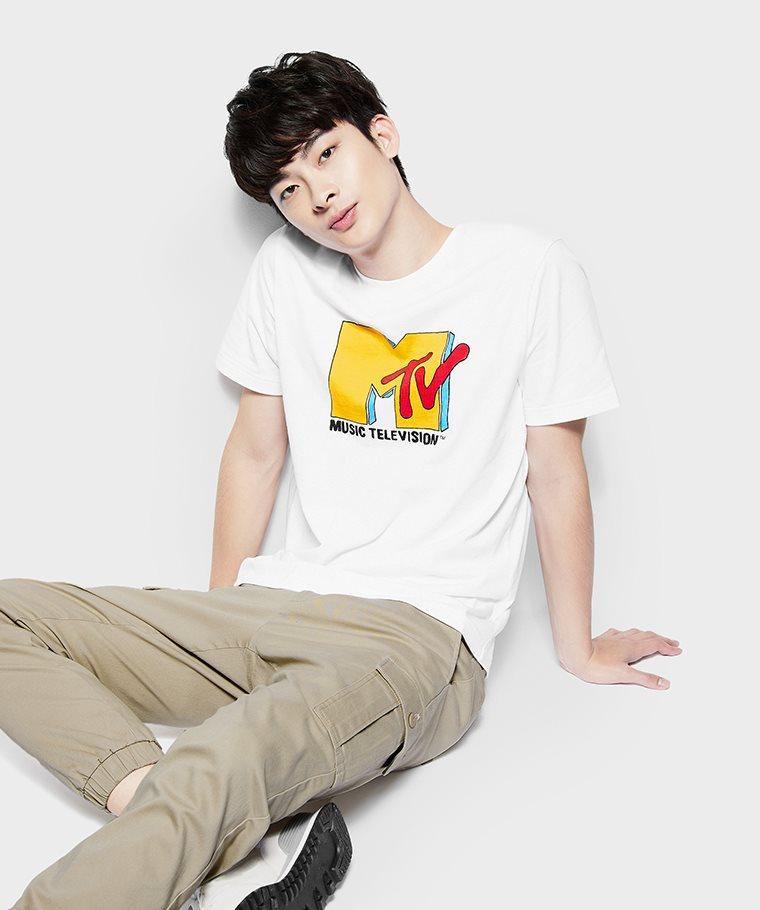 MTV印花T恤-01-男