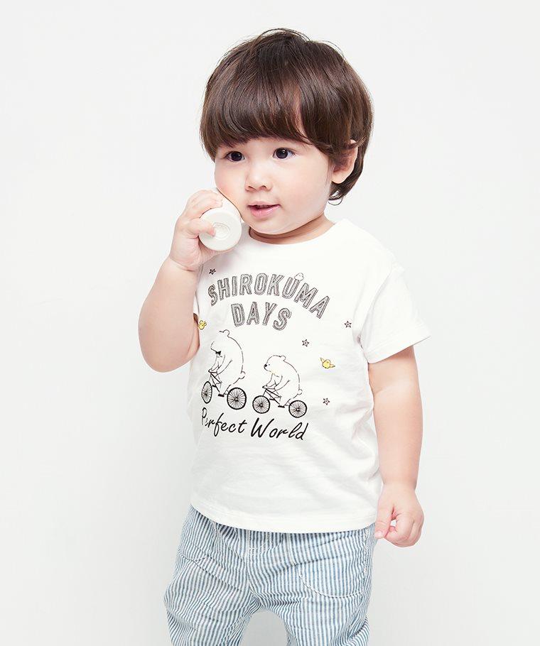 Shirokuma Days印花T恤-04-Baby