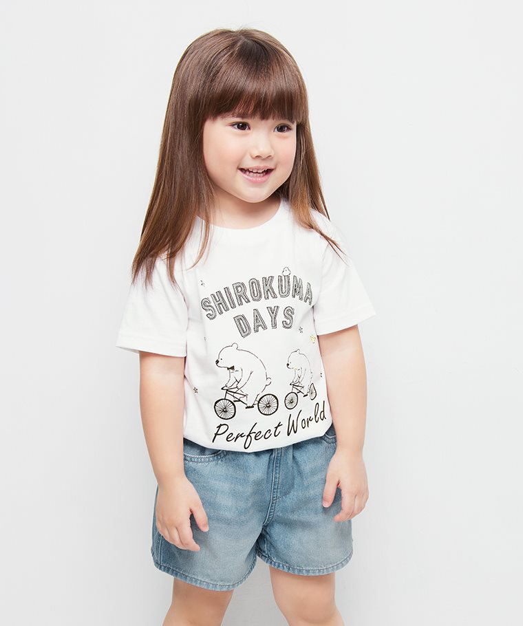 Shirokuma Days印花T恤-04-童