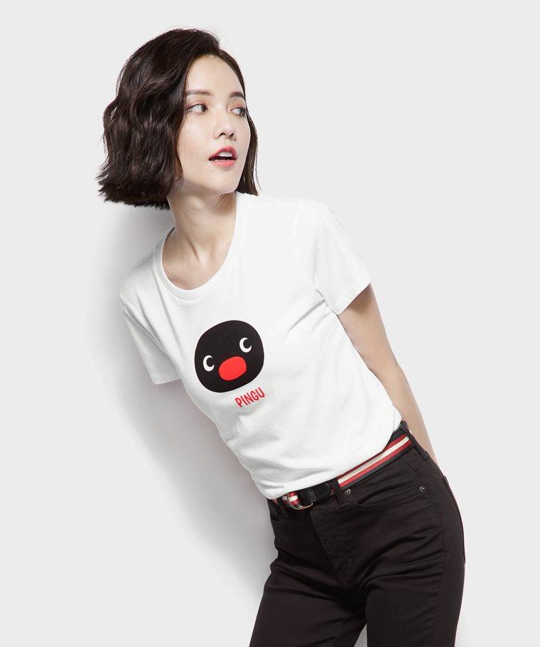 PINGU印花T恤-05-女