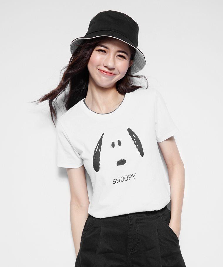 史努比系列印花T恤-17-女
