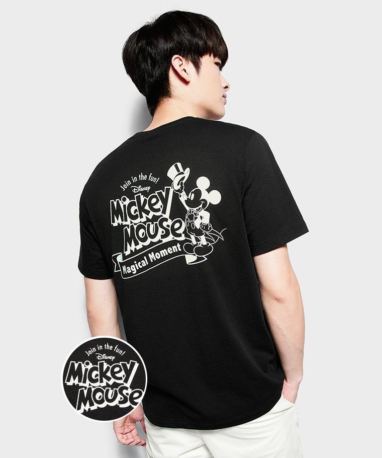 迪士尼系列印花T恤-10-男