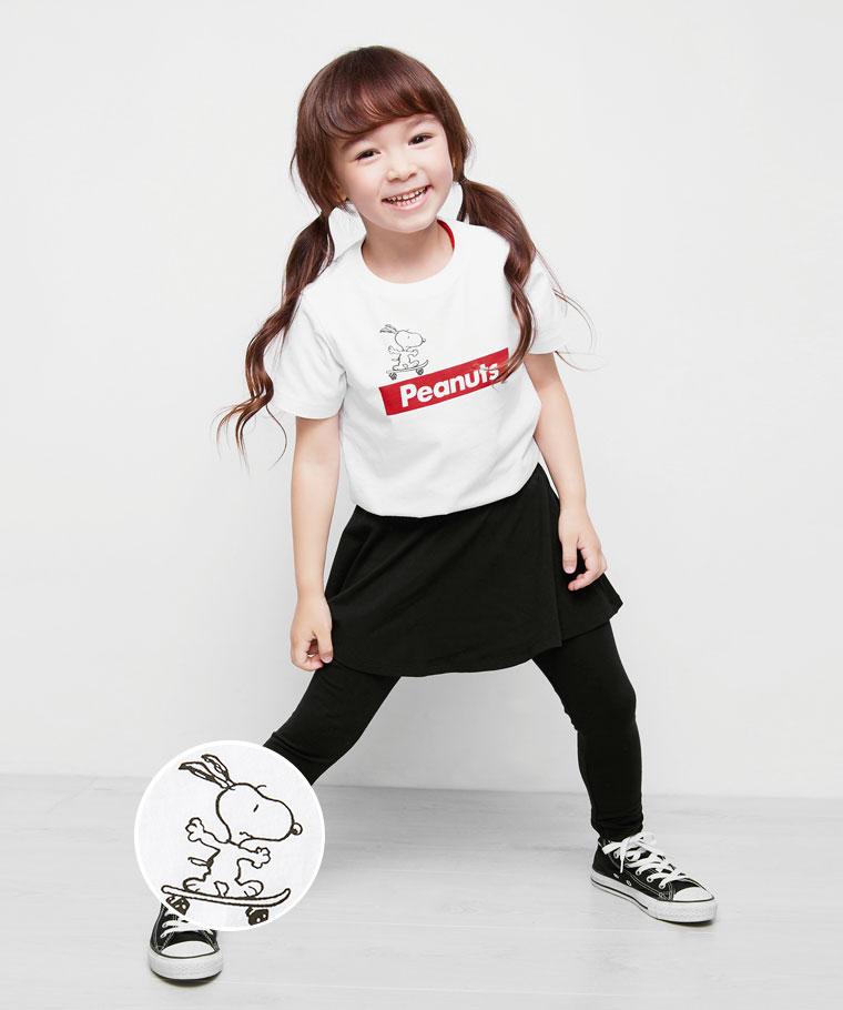 史努比系列印花T恤-02-童