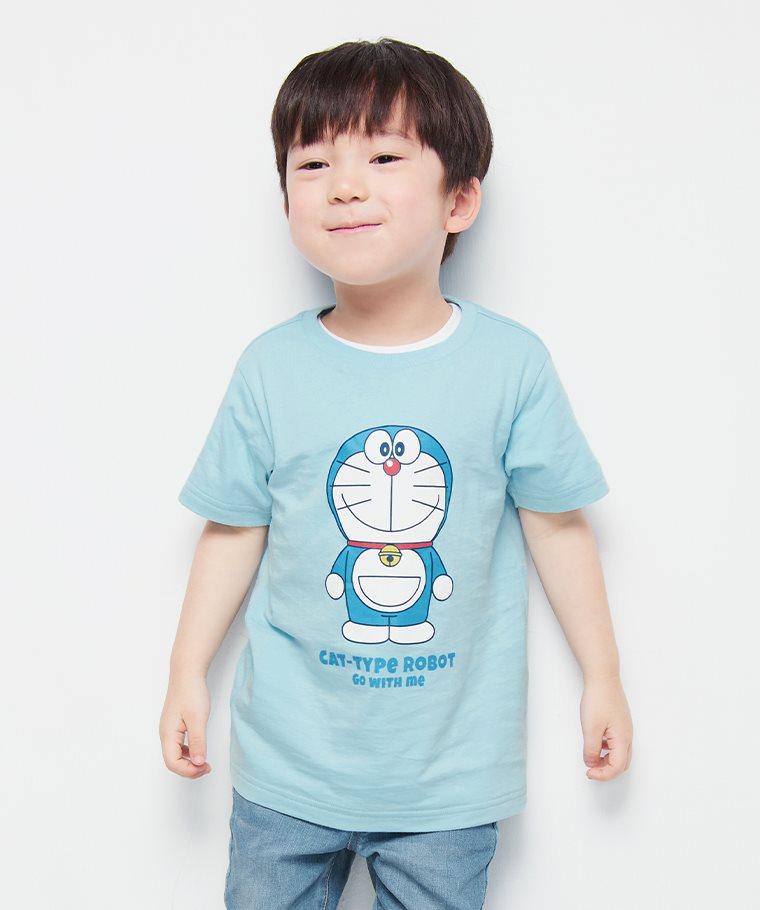 哆啦A夢印花T恤-17-童