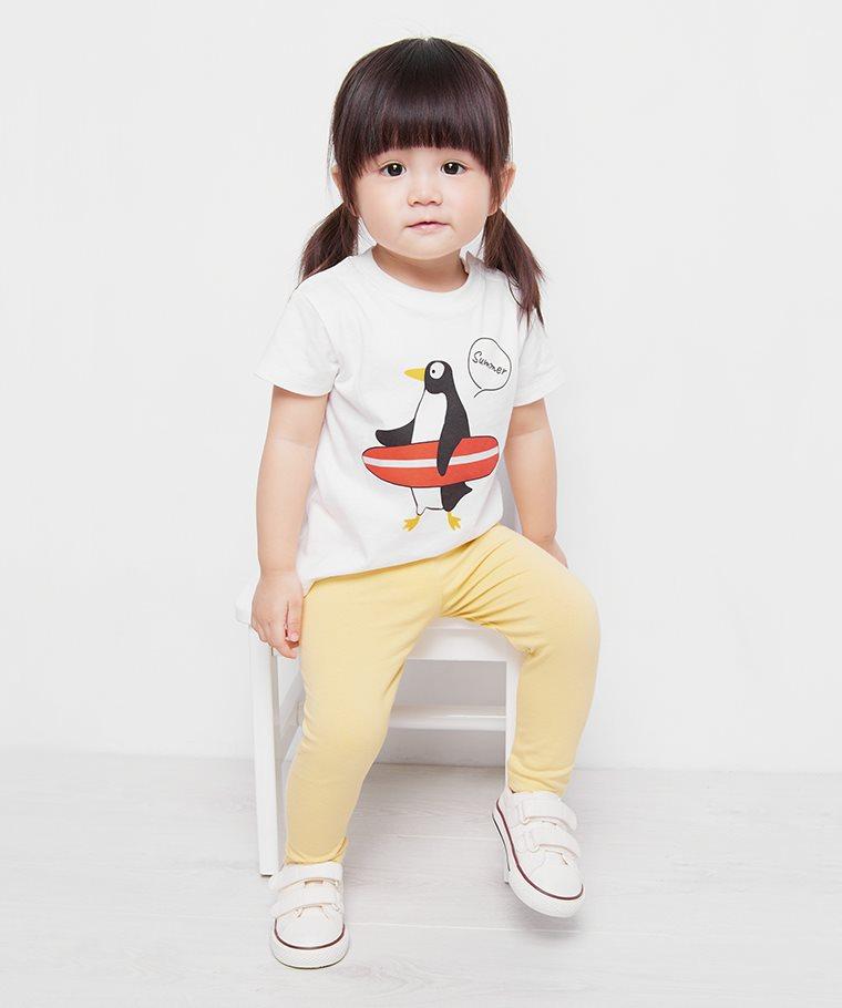企鵝印花T恤-Baby