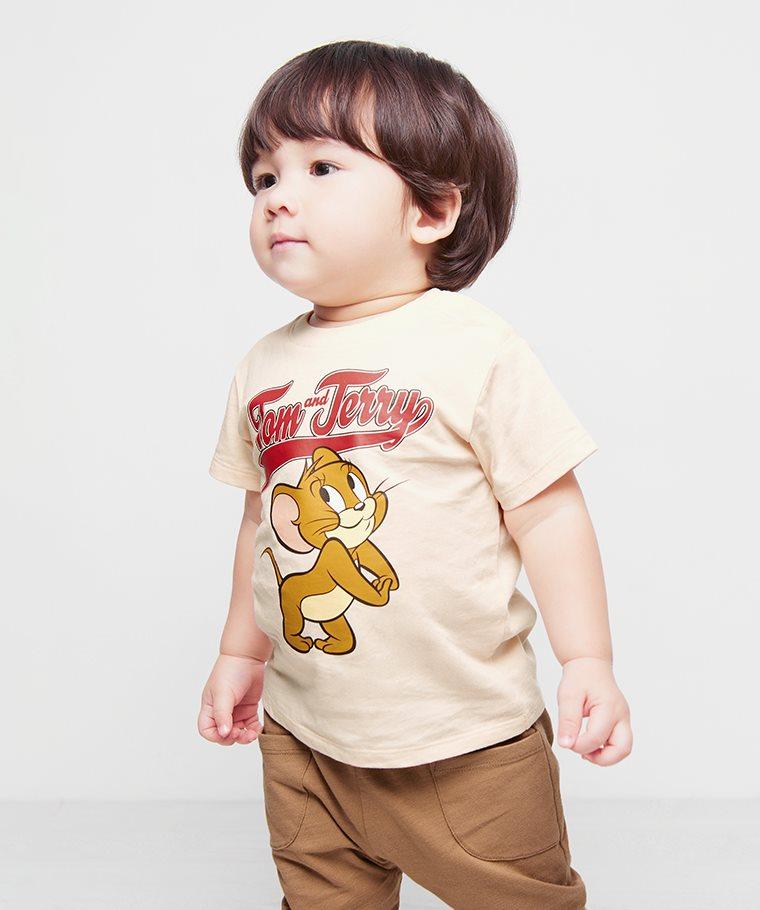 Tom & Jerry印花T恤-05-Baby