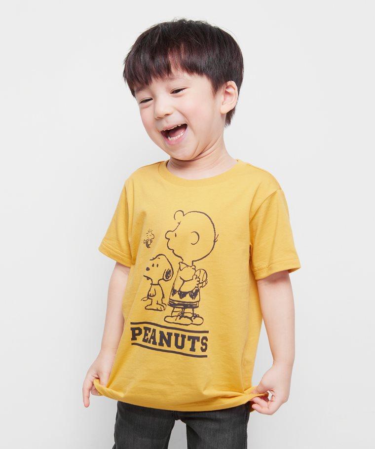 史努比系列印花T恤-15-童