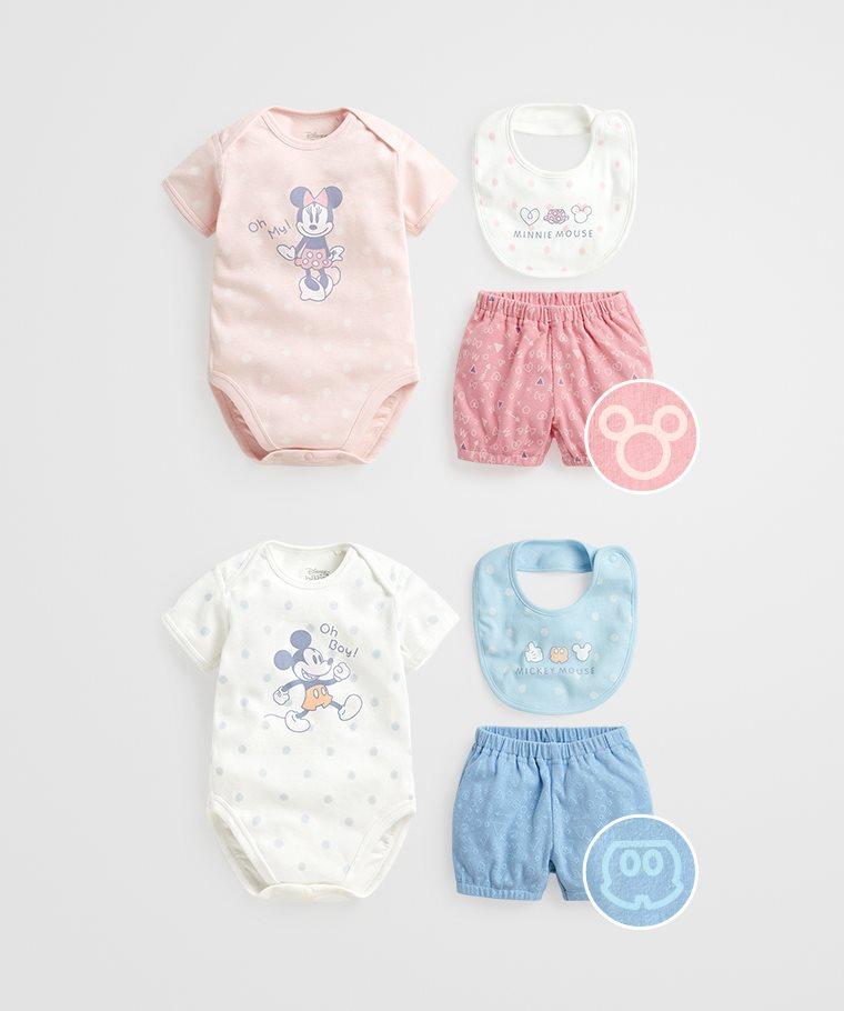 迪士尼系列套裝組(3入)-Baby