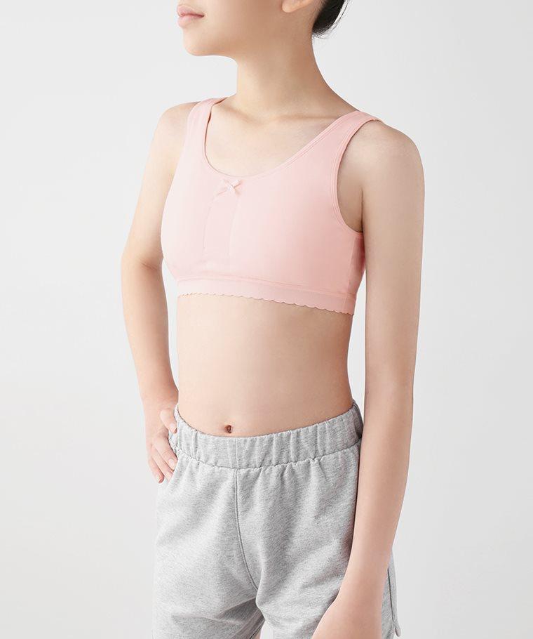 成長型棉質背心Bra胸衣-女童